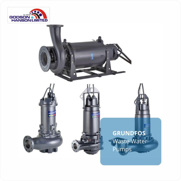 GRUNDFOS Waste Water Pumps