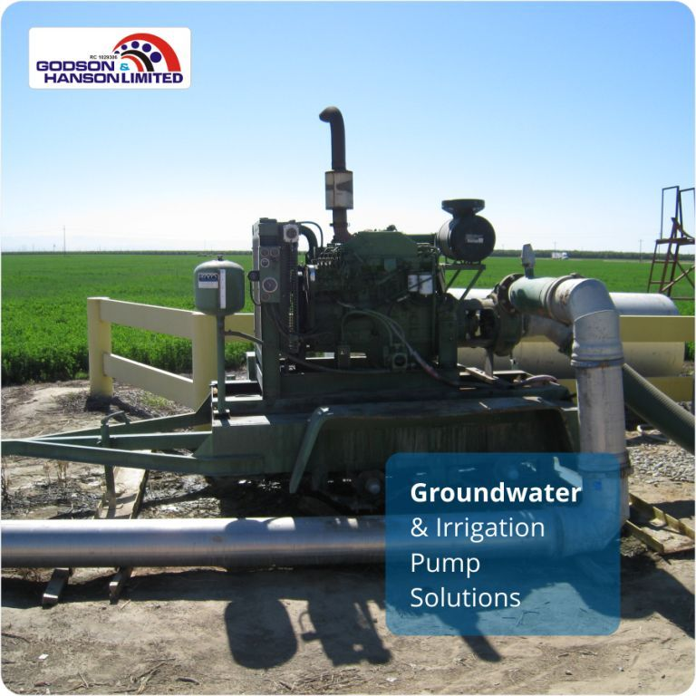 Groundwater & Irrigation Pump Solutions