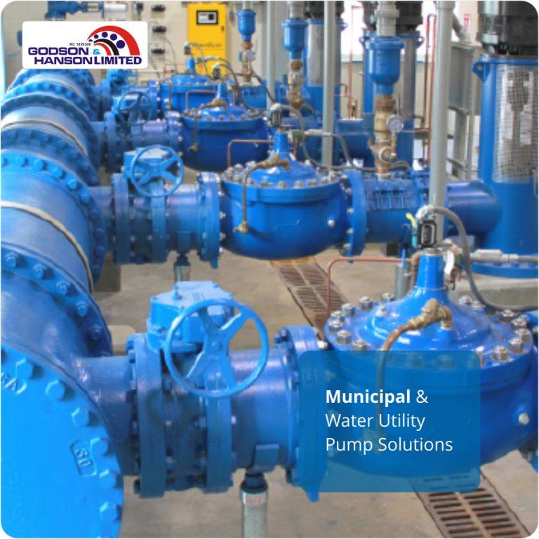 Municipal & Water Utility Pump Solutions