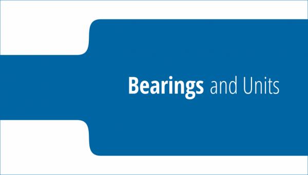 Bearings and Units