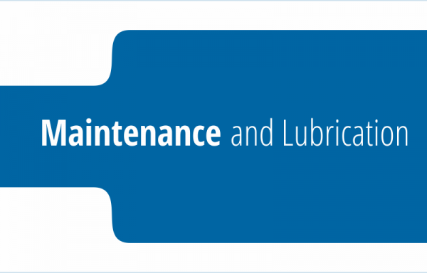 Maintenance and Lubrication Products